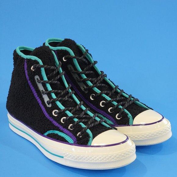 Converse Chuck 70 Hi Retro Sherpa Sneakers NWT